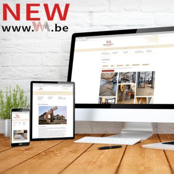 W&A parket nieuwe website online
